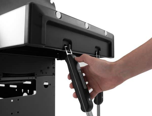Baron 320 bbq feature tool storage