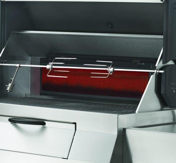 PRO605CSS-Rear-Charcoal-Rotisserie-Burne