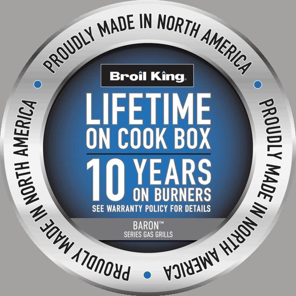 10 year cook box warranty